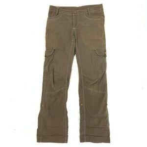 Kuhl Cotton-Nylon Brown Hiking Cargo Khaki Pants 8